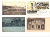 1900 lü yıllardan ANTİKA orjinal PULLU KARTPOSTALLAR
